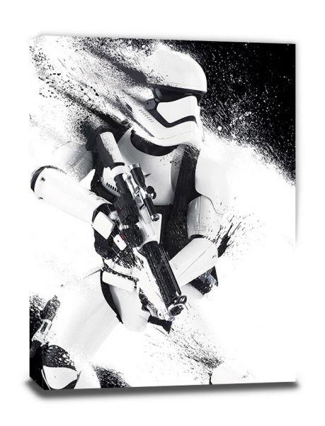 Star Wars: EP7 Stormtrooper Paint, Leinwanddruck