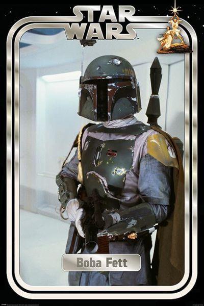 Boba Fett Retro Maxi Poster Star Wars