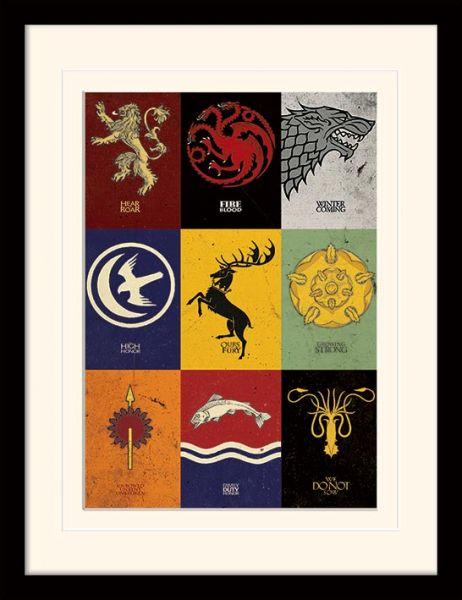 Game of Thrones: Sigils, Gerahmt