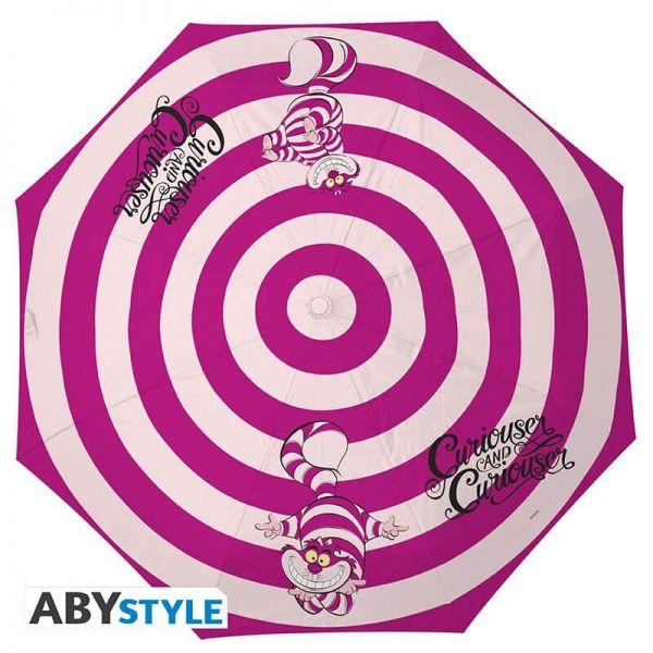 Grinsekatze Regenschirm Alice im Wunderland
