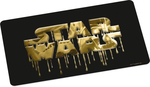 Star Wars Logo Frühstücksbrettchen gold
