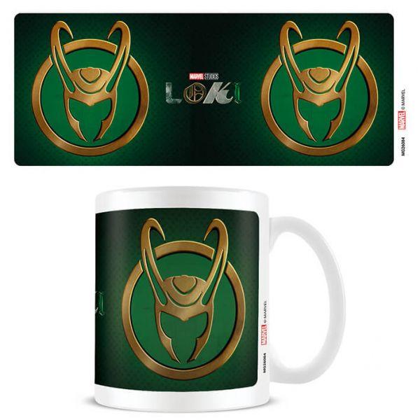 Loki Helm Symbol Tasse Marvel