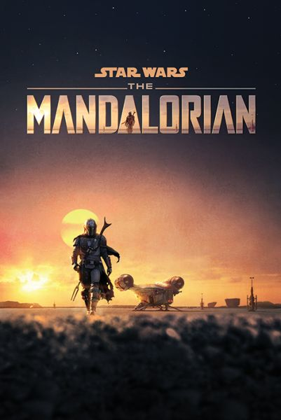 Dusk The Mandalorian Maxi Poster Star Wars