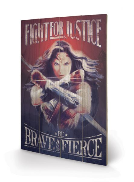 Wonder Woman Fight for Justice Holzbild DC Comics