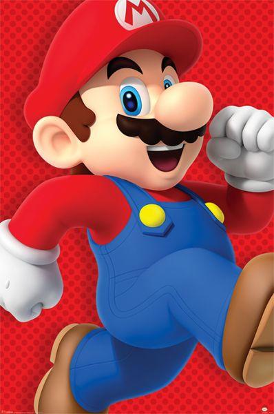 Super Mario: Run, Maxi Poster
