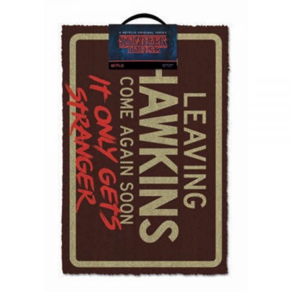 Leaving Hawkins Fußmatte Stranger Things