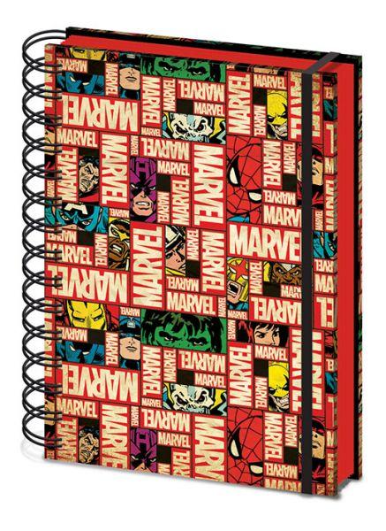 Marvel Logo Premium Notizbuch