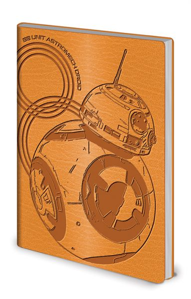 Star Wars (BB-8), Flexi-Cover A5 Notizbuch