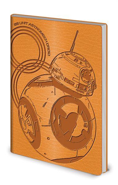 BB-8 Flexi-Cover A5 Notizbuch Star Wars