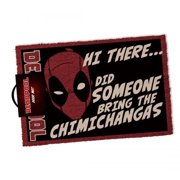 Deadpool: Maske Chimichangas Fußmatte