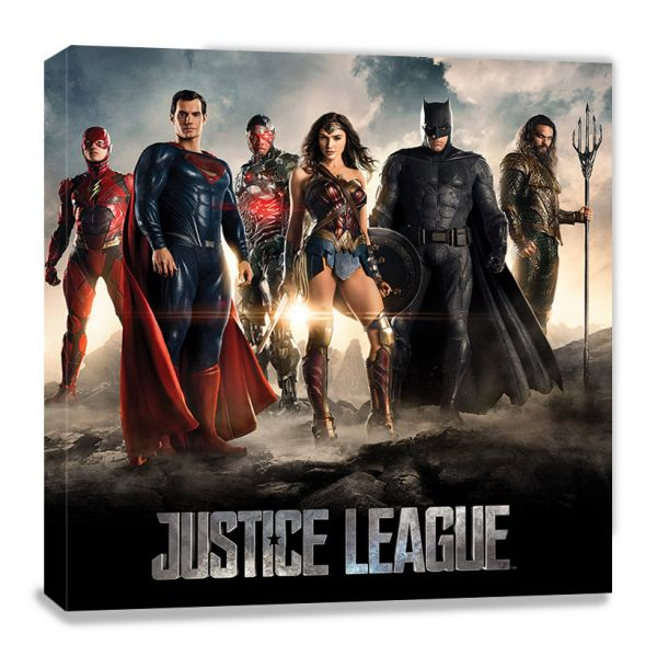 Movie Teaser Leinwandbild DC Comics
