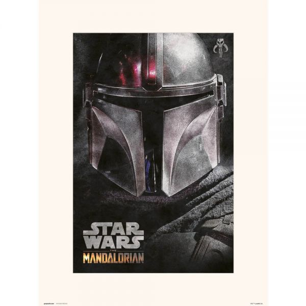 The Mandalorian Kunstdruck Star Wars
