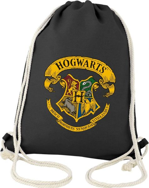 Hogwarts Logo Stoffbeutel Harry Potter