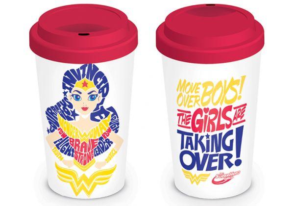 DC Comics: Super Hero Girls (Girls Are Taking Over), To Go Becher
