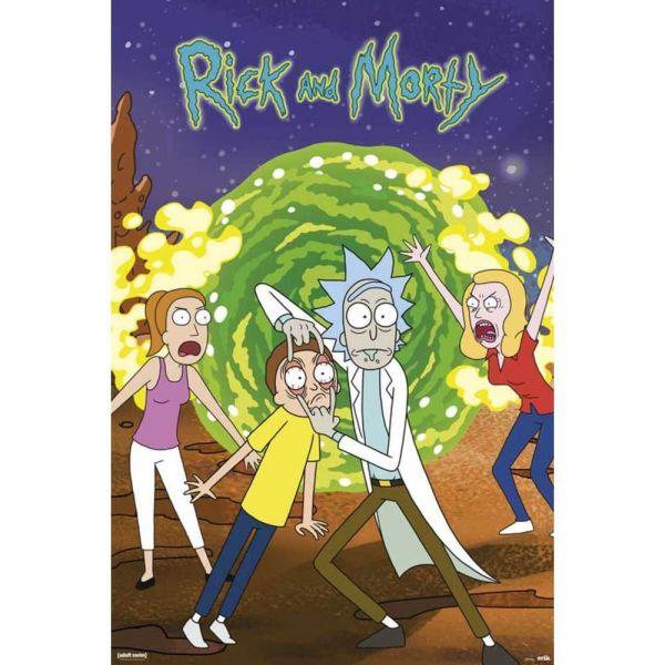 Rick and Morty Portal Maxi Poster