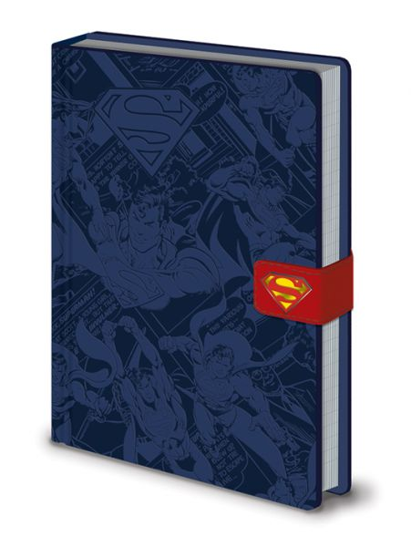 Superman Premium Notizbuch, DC Originals