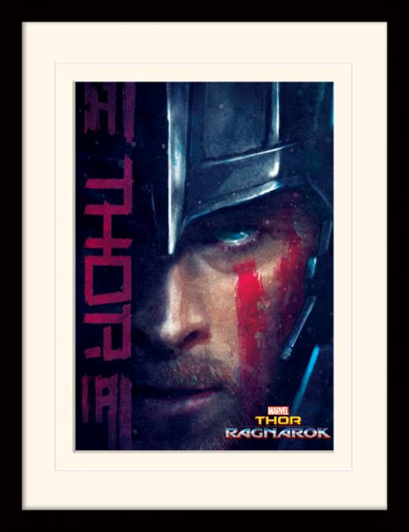 Thor Ragnarok: Thor, Gerahmt
