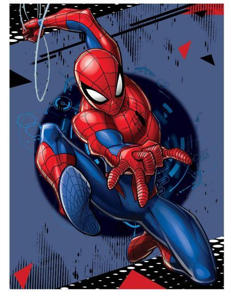Spider-Man Attack Fleece Decke Marvel