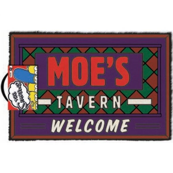 Simpsons (Moes Tavern) Welcome Fußmatte