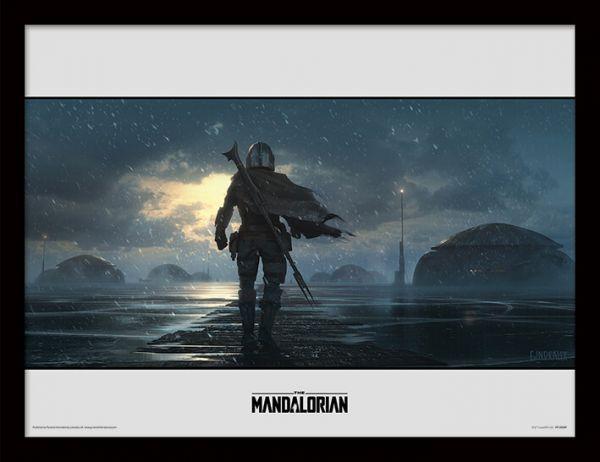 Storm The Mandalorian gerahmtes Bild Star Wars