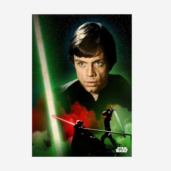 Luke Skywalker Metall Poster Star Wars