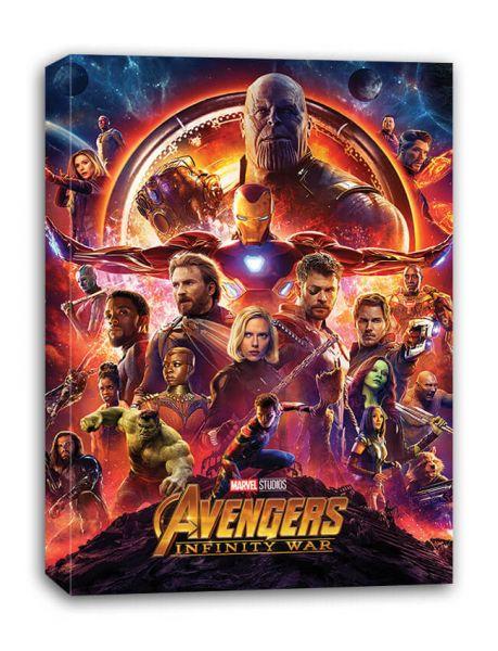 Avengers Infinity War (One Sheet) Leinwandbild