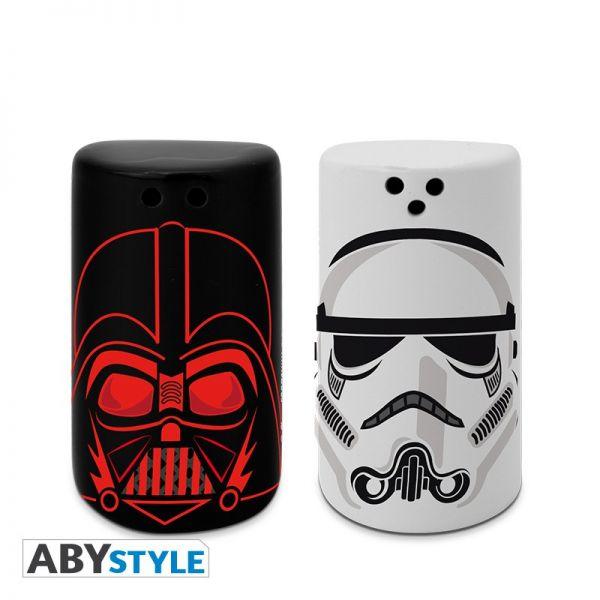 Darth Vader und Trooper Salz- Pfefferstreuer Star Wars