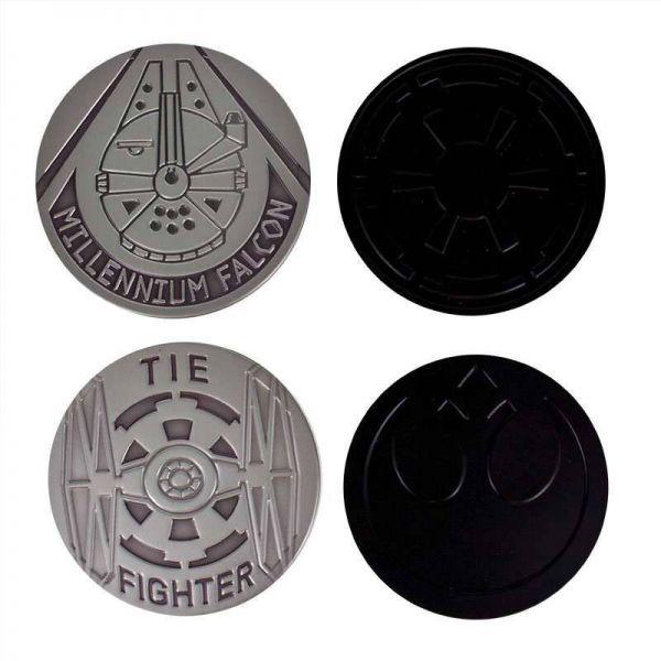 Star Wars Metall Untersetzer 4er-Pack
