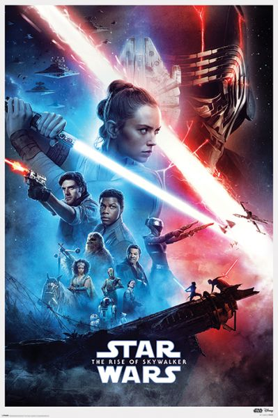 Saga The Rise of Skywalker Maxi Poster Star Wars
