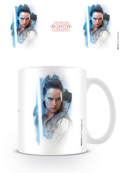 Rey Brushstroke The Last Jedi Tasse Star Wars