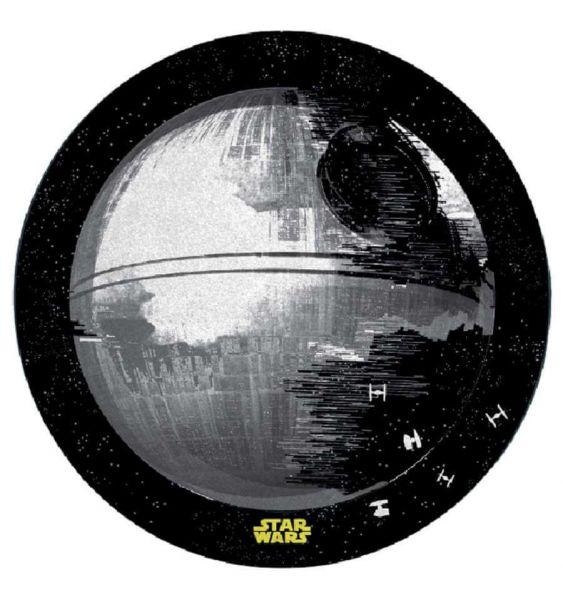 Todesstern Teppich rund 76 cm Star Wars