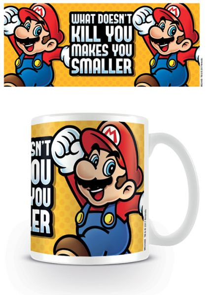 Makes You Smaller Super Mario Tasse Nintendo