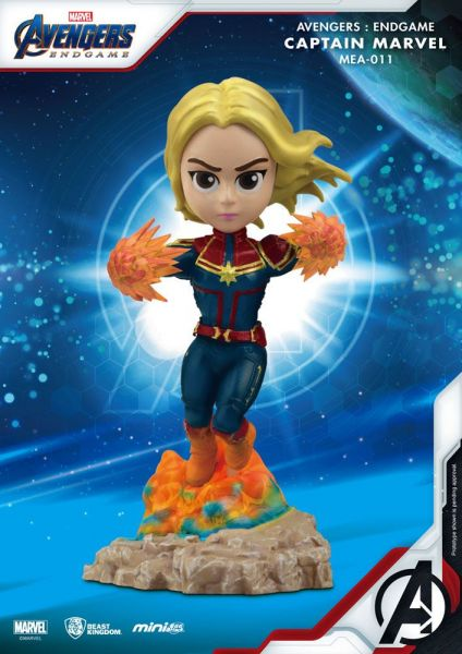 Avengers: Endgame Captain Marvel Mini Egg Figur 10 cm