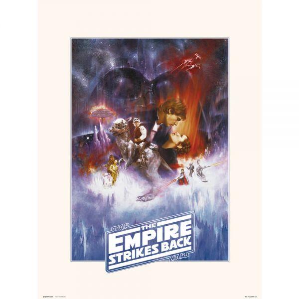 The Empire strikes back Kunstdruck Star Wars