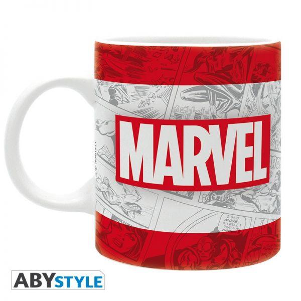 Marvel Tasse Logo Classic Comic