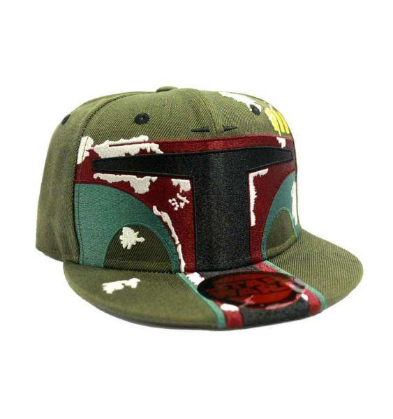 Boba Fett Helm Snapback Star Wars
