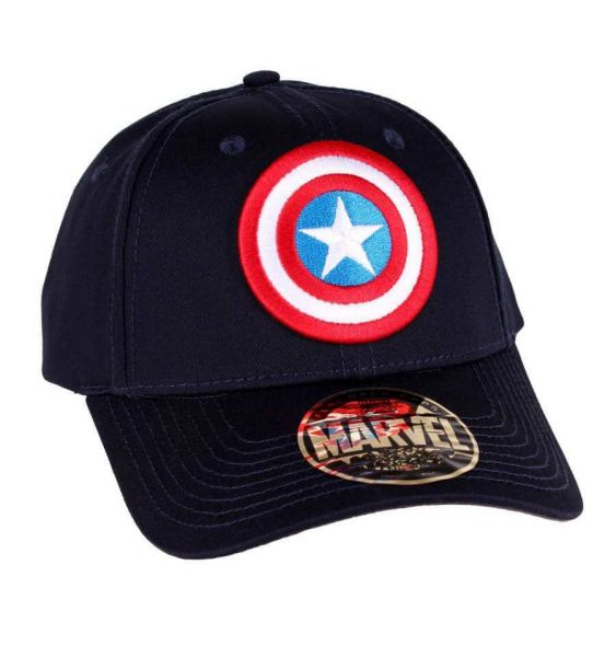 Captain America Schild Basecap Marvel