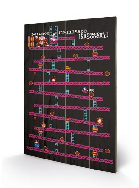 Donkey Kong (Nes), Holzdruck