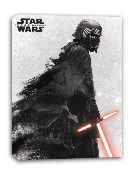 The Rise Of Skywalker Kylo Ren + Vader Leinwandbild Star Wars