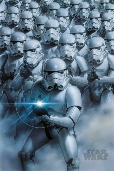 Star Wars: Stormtroopers, Maxi Poster