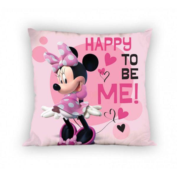 Happy to be Me Minnie Mouse Kissen gefüllt Disney